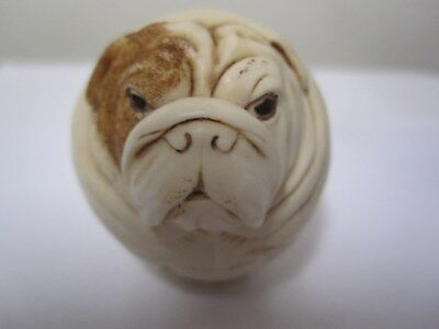 Harmony Kingdom Winston  Roly Polys HARD BODY Bulldog TJRPHO2 SIGNED Adam Binder