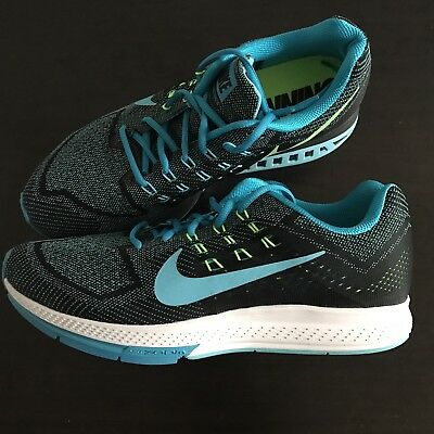 89a8a5d5d5b8b New! Nike Zoom Structure 18 Running Shoes 683731-401 Blue Black Men 11.5