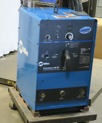 Miller Syncrowave 180 SD CC AC/DC ARC Welding Supply 208-230V (907054)