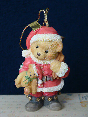 Cherished Teddies Ornament - Bear Dressed As Santa - 651370 - 1995