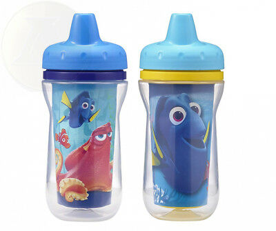 The First Years 2 Pack Disney/Pixar Finding Dory Insulated Sippy Cup, 9...