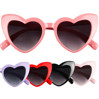 ShadyVEU - Cute Little Girls Toddlers Baby Heart Shaped Oversize Love Sunglasses