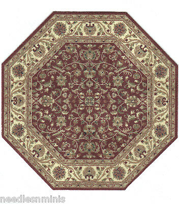 "1:24 Scale Area Rug approximately 4"" x 4"" Hexagon - 0000627"