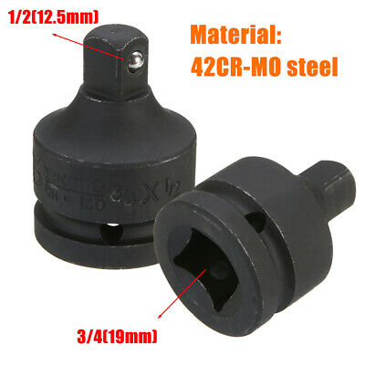 3/4'' Female to 1/2'' Male Drive Socket Reducer Impact Ratchet Adapter Converter