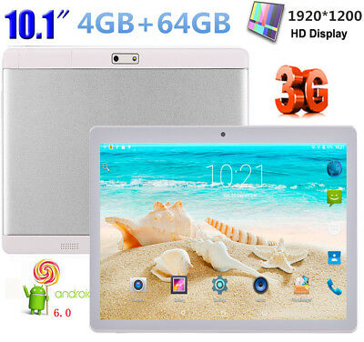 10.1'' Tablet PC Android6.0 4GB+64GB Dual SIM/Camera Phone OctaCore Wifi Phablet