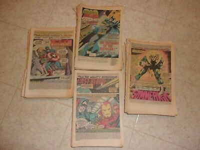 60 Silver Bronze Age Coverless Comic Lot Marvel Dc Good Mix All Titles Listed