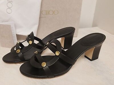 54a9abbbe962 JIMMY CHOO DAMARIS Block Heel Sandal (Women) BLACK