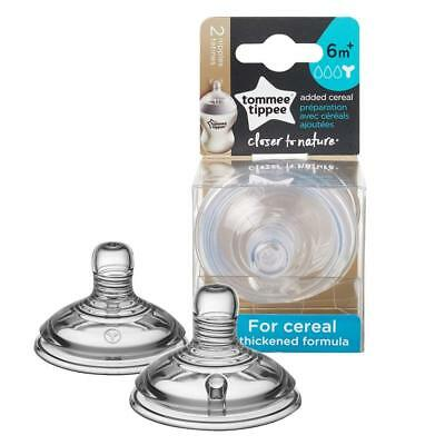 Tommee Tippee 52203610 Closer To Nature Nipple, 2 Count