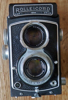 BOXED & CASED ROLLEICORD III S/N 1190854 TLR 75mm f3.5 XENAR S/N 2793387