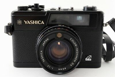 Yashica Electro 35 GX 35mm Rangefinder Film Camera w/Lens Excellent!  ♯668-2