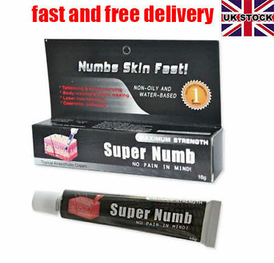 Super Topical Anesthetic Cream For Eyebrow Numbing Tattooing Piercing Waxing UK