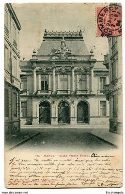 CPA-Carte postale-France - Nancy - Salle Victor Poirel - 1904 ( CP4073 )