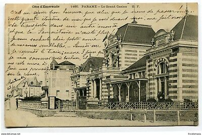 CPA-Carte postale-France -Paramé -Le Grand Casino - 1903 ( CP4089 )