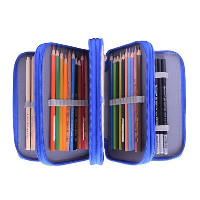 72 Pencil Case Drawing Painting Pen Organizer Storage Bag Large Capacity Holder
