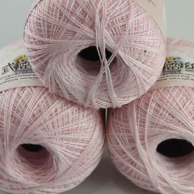Sale Cotton Crochet Yarn No.8 Craft Tatting Hand Knit Embroidery 50grX6Balls 105