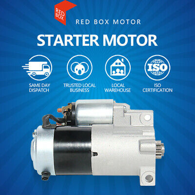 Starter Motor Fits Holden Commodore & Calais V6 VN VP VR VS VT VY MANUAL TRANS