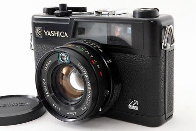 Yashica Electro 35 GX 35mm Rangefinder Film Camera w/Lens Excellent!  ♯669-1