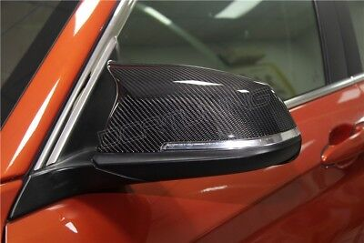 Genuine M3 M4 Style Carbon Fibre Side Wing Mirror Covers Bmw F30 F20 F31 F21 F22