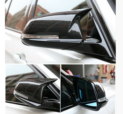 M3 M4 Style Real 100% Carbon Fibre Side Wing Mirror Covers Bmw F30 F20 F31 F22 M