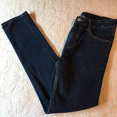H&M Boys Dark Wash Denim Skinny Fit Jeans Size 13-14Y