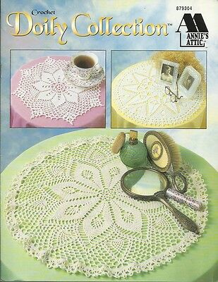 Doily Collection Annies Attic Crochet Doilies Pattern Craft Leaflet