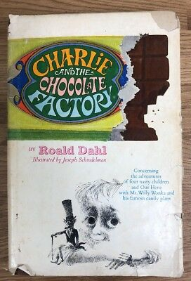 Charlie and the Chocolate Factory / Roald Dahl / 1964 / hardback w dust jacket
