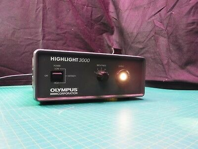 OLYMPUS HIGHLIGHT 3000 Fiber Optic Light Source Illuminator