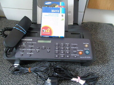 Samsung SF-375TP Inkjet Fax Machine With Copy,scan And Print Manual & 2 New Ink