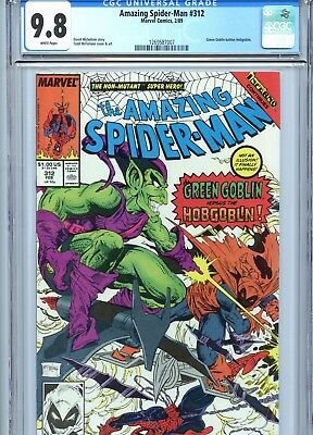 Amazing Spider-Man #312 CGC 9.8 Todd McFarlane Cover & Art Green Goblin 1989