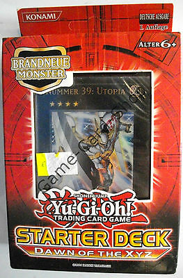 Yu-Gi-Oh! - DAWN OF THE XYZ - STARTER DECK - Deutsch - 1. Auflage - OVP - NEU