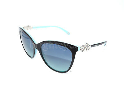 adce62712d5 Authentic TIFFANY   CO. Victoria Cat Eye Sunglasses TF 4131HB - 80559S  NEW