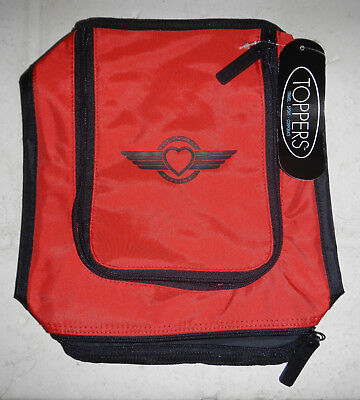 NWT Southwest Airlines Logo SWA Toppers Flume Sport Toiletry Bag