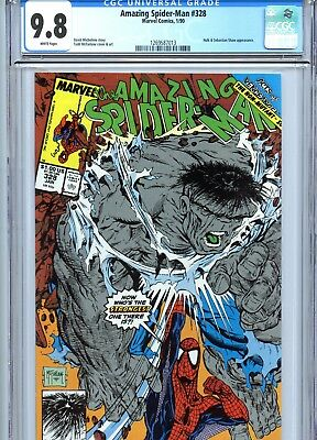 Amazing Spider-Man #328 CGC 9.8 McFarlane Cover & Art Incredible Hulk 1990