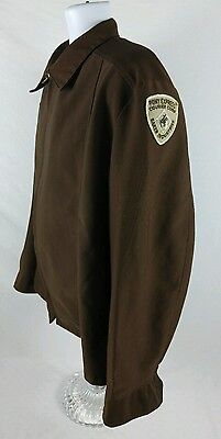 Pony Express Courier Corps Baker Industries Vintage Large Work Jacket With Patch