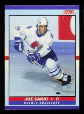 Joe Sakic 1990/91 90/91 Score Young Superstars Glossy #10  Quebec Nordiques