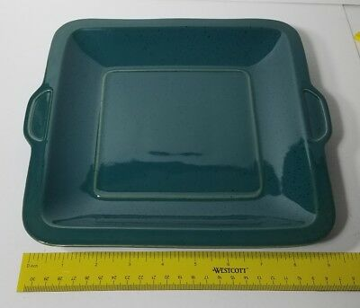 Denby Harlequin Square Handled Cake Plate Rare New Never Used Perfect See this & Denby/Langley/Lovatts China \u0026 Dinnerware Pottery \u0026 China Pottery ...