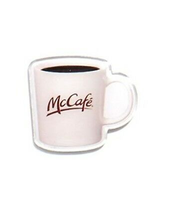 McDonalds Cute Lapel Pin McCafe Coffee Mug - Brand New in Package