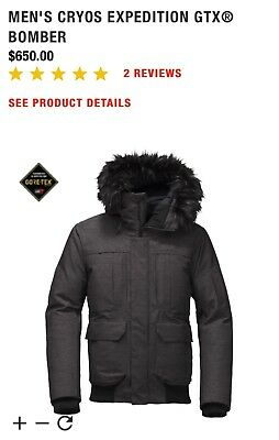 dd0f024bece8 The North Face Mens Cryos Expedition GTX Bomber Jacket-LARGE(GORE-TEX)