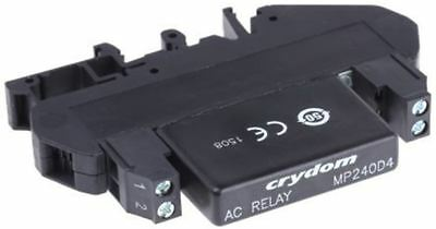Sensata / Crydom 4 A rms Solid State Relay, Zero Cross, DIN Rail, 280 V Maximum