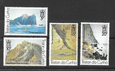 Tristan da Cunha 1980 Paintings 3rd Series Sg272-275  MNH