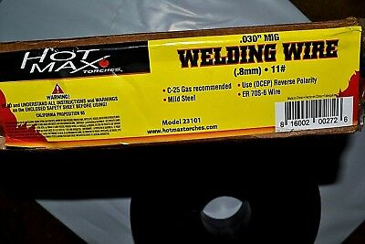 "10 lb Roll  ER70S-6 .030"" Mild Steel MIG Welding Wire ! HTP Quality!"