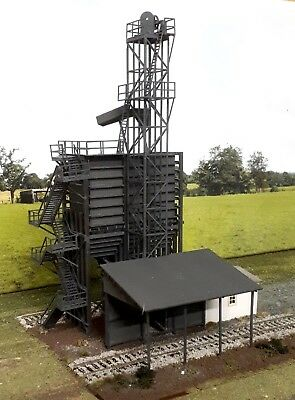 NSW Coal Stage with hoist winch shed and loading bay HO 1/87 scale