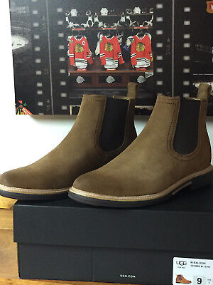 e2cf8938c6f BRAND NEW MENS Ugg Baldvin Chestnut Suede Boot Size 9M, Uk 8, Eu 42 Retail  $200