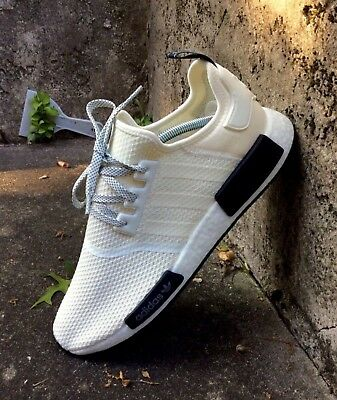 huge selection of 74820 fbd03 ADIDAS NMD R1 Mens Size 12 / D97215 / Off White-Carbon-Core Black / Brand  New!!