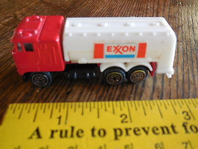 Vingage EXXON Tanker Truck: small; made in Hong Kong; Metal and Plastic