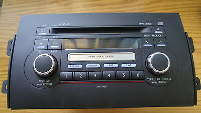 2007-08 Suzuki SX4 RADIO MP3 CD PS-2807K 39101-80J10