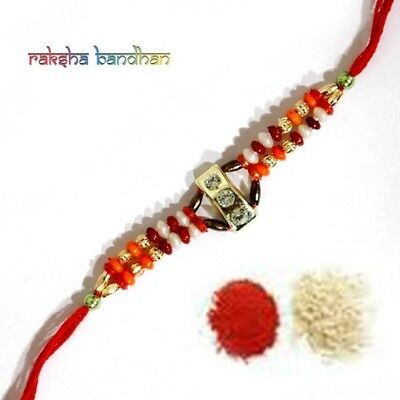 New Fancy Rakhee Rakhi Raksha Bandhan Australia, India, UK Europe Asia Worldwide