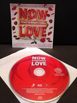 Now That's What I Call Love (2010) Cd