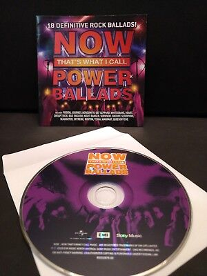 Now That's What I Call Power Ballads (2016) Cd