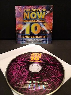The Best Of Now That's What I Call Music 10Th Anniversary (2008) Cd